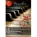 Voucher - 15 lekcji gry na keyboardzie