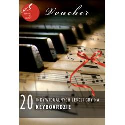 Voucher - 20 lekcji gry na keyboardzie