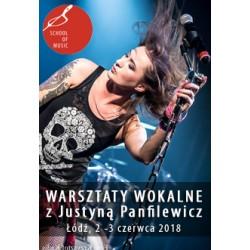 Dwudniowe Warsztaty wokalne z Justyną Panfilewicz / Łódź / 02-03.06.2018