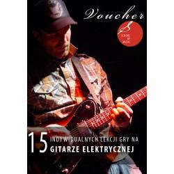 Voucher - 15 lekcji gry na gitarze elektrycznej