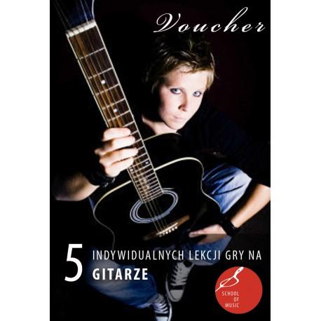 Voucher - 3 lekcje gry na gitarze klasycznej/akustycznej
