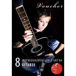 Voucher - 8 lekcji gry na gitarze klasycznej/akustycznej