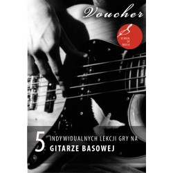 Voucher - 1 lekcja gry na gitarze elektrycznej