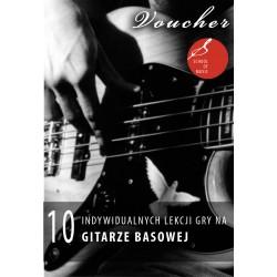 Voucher - 8 lekcji gry na gitarze basowej
