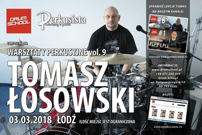 warsztaty perkusyjne tomasz łosowski